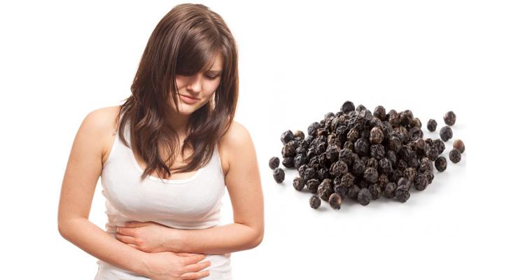 Перец горошком от поноса: как принимать при диарее