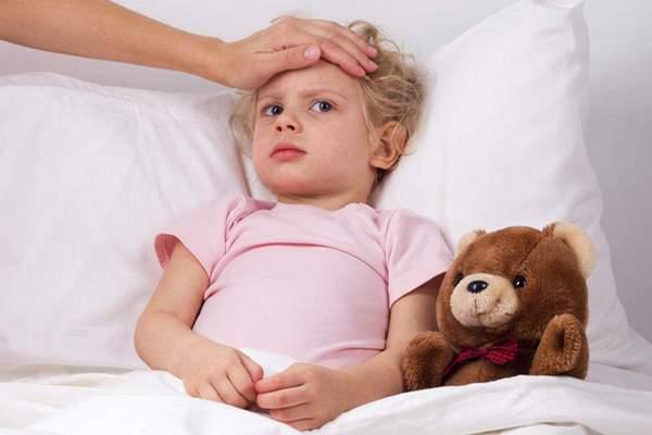 Расстройство желудка у детей при орви