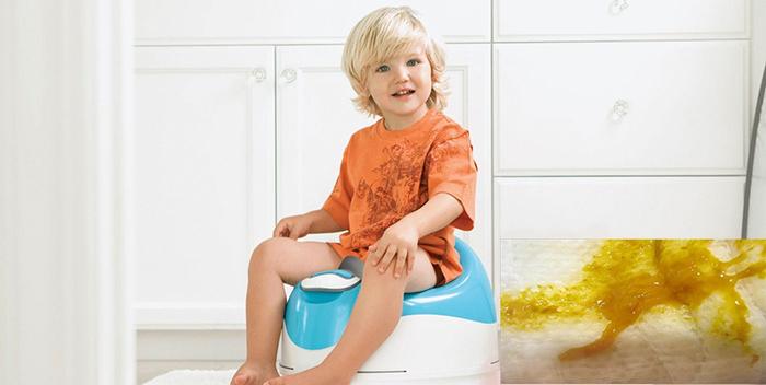 Понос со слизью и температура у ребенка