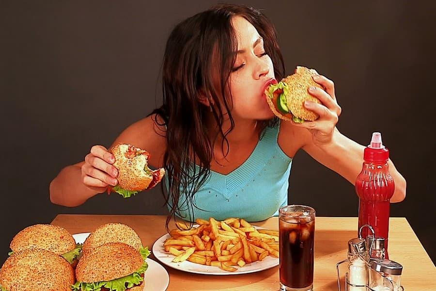 Диета после жирной пищи
